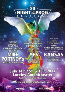XII Night of the Prog Festival Loreley 2017